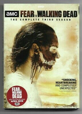 Sealed DVD - AMC FEAR THE WALKING DEAD Season 3  - Also In French