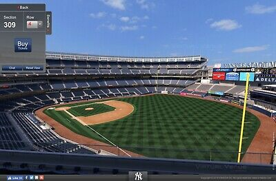 3 Yankees vs Tampa Rays Terrace tix + Free Hot Dog + Beer for Monday, July 15th