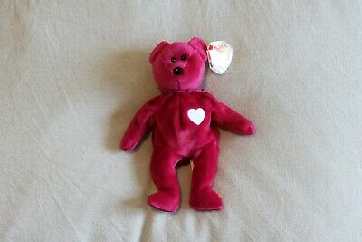 bbbd853d031fdd TY ORIGINAL BEANIE Baby Valentina New With Tags - $3.99 | PicClick