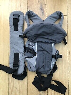 Mothercare 3 position Front baby carrier Grey Black 3.5-12kg Good Condition