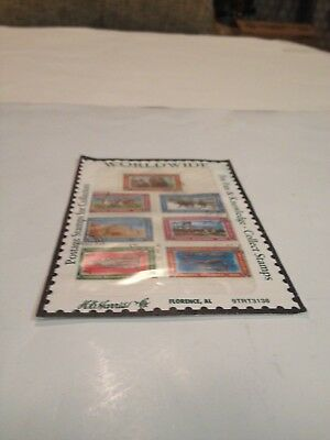 Afghanistan Stamps Set- Lot of 7- Used W/Cancels in Sealed Package- From 1994