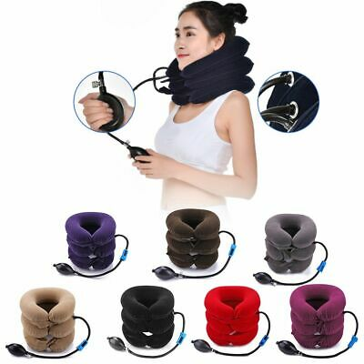 Inflatable Travel Pillow U Neck Relaxing Cervical Brace Air Cushion Support