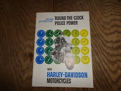 Vintage Harley Davidson Motorcycle Glossy B/W Photos from 1978