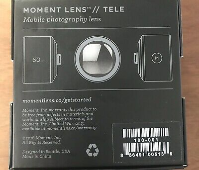 MOMENT Lens Tele 60mm V1 For IPhone 6s or Older
