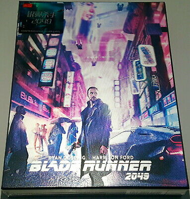 Blade Runner 2049  Hdzeta Lenticular 4K/2D Numbered Blu Ray Steelbook