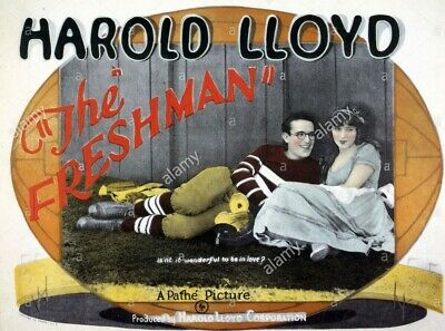 16mm THE FRESHMAN-1925. Harold Lloyd silent (with music) Feature Film.