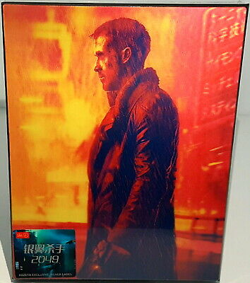 "Blade Runner 2049  Hdzeta ""Double Lenticular"" Numbered 3D/2D Blu Ray Steelbook"