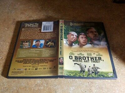 O Brother, Where Art Thou (DVD, 2001, Widescreen) EXCELLENT COND WITH INSERT