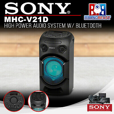 Sony MHC-V21D High Power Audio System with Bluetooth Technology
