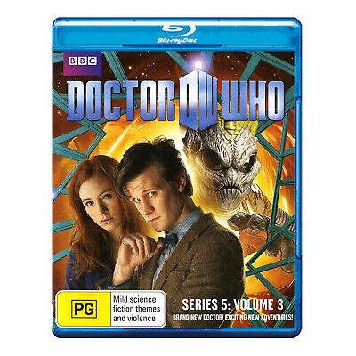 Doctor Who Blu-ray New - Matt Smith - Amy's Choice, The Hungry Earth, Cold Blood