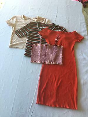 Various Clothes sizes 6-8 (Suitable for girls or small ladies)