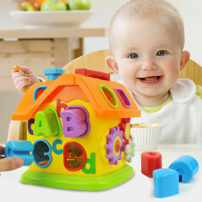 Baby Fun House Baby Educational Toys Blocks Sorting Learning Toy For Kid Toddler