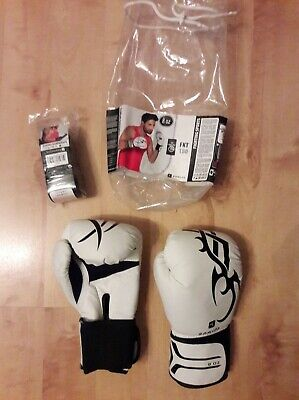 Gants de boxe DOMYOS 8 oz + bandes protection