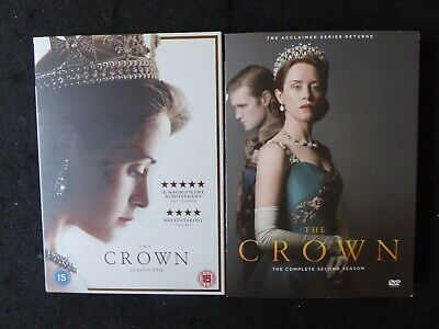 The Crown Season 1 & 2 Complete DVD
