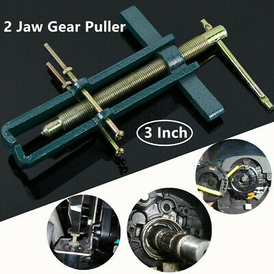 "3"" 2 Jaw Gear Puller Mechanic Bearing Car Steering Wheel Remover Extractor Tools"