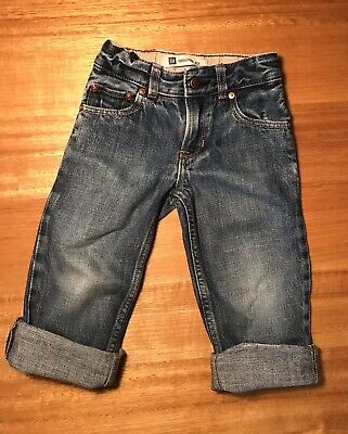 Baby Gap Toddler Size 3 Straight Leg Denim Jeans