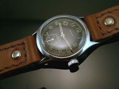 MOERIS DH , RARE MILITARY WRISTWATCHES for GERMAN ARMY, WEHRMACHT of WWII