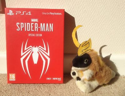 SPIDERMAN SPIDER-MAN 2018 The game SPECIAL limited EDITION on PS4 Steelbook