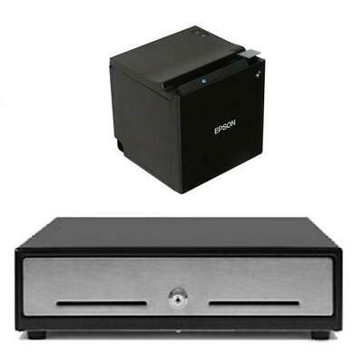 Bundle EPSON TM-M30 Bluetooth Receipt Printer with EC350 Cash Drawer