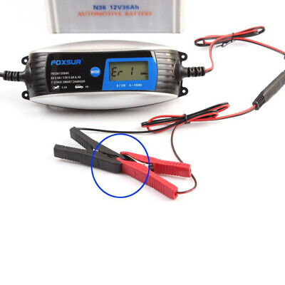 6V/12V 0.8A/4A Automatic Identification Of Car And Motorcycle Battery Charger