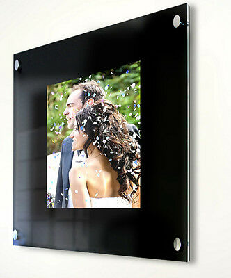 """Photo picture frame 14 x 11 """" Cheshire acrylic Baby wedding christening family"""