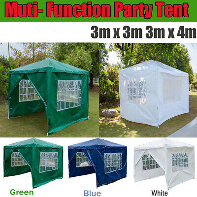 Waterproof Outdoor Garden Gazebo Party Tent Marquee Awning Canopy Shelter 3mx3m