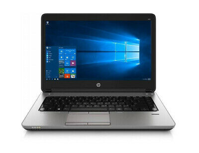 "HP Probook 645 G1 14"" Laptop AMD A4 8GB RAM 120GB SSD WINDOWS 10 DVD"