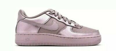 NEW Ladies Girls Nike Air Force 1 LV8 Low Top Metallic Pink Trainers UK Size 4