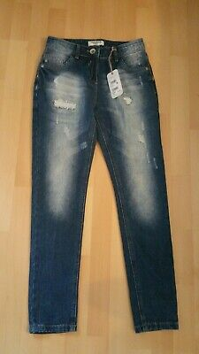 Bnwt Next Girls Relaxed Skinny Fit Jeans 12 Yrs