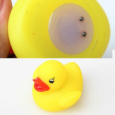 BW#A Baby Bath Toy Yellow Multi Color LED Lamp Light Duck L