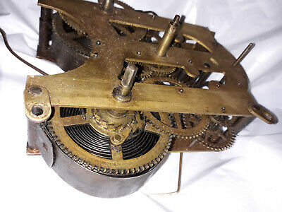 Antique Ansonia Clock Mechanism for Steampunk or Artwork