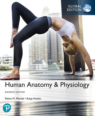 NEW - 3 DAYS to AUS - Human Anatomy & Physiology by Marieb (11 Ed) 9781292260853