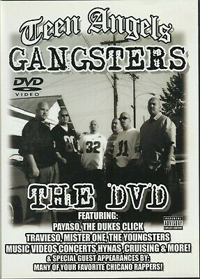 TEEN ANGELS GANGSTERS The DVD RARE! Chicano G-funk Payaso Cali Gangsta Rap
