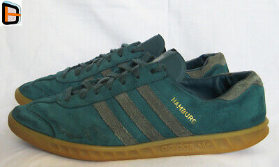 Adidas Hamburg Trainers UK13 US13,5 EU48,5 Sneakers Shoes Deadstock City Casuals
