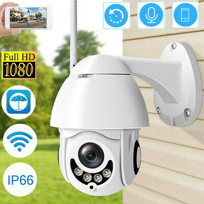 1080P Telecamera Ptz Full Color Hd Esterna Ip Camera Motorizzata Ir Wifi Webcam