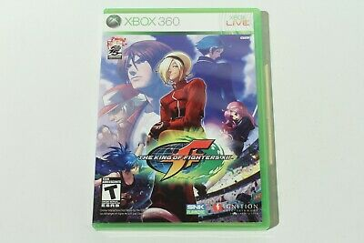 The King of Fighters XII (Xbox 360) Complete with Manual - Tested