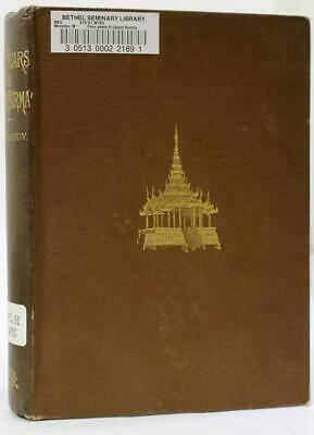 Four Years in Upper Burma by W.R. Winston 1st Edition