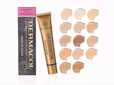 DERMACOL LEGENDARY High Cover Make Up Foundation Film Studio