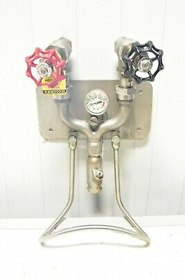 Strahman M-750 Wash Down Mixing Units with temp indicator  20 Available