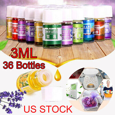3ml 36PCS 100% Pure Natural Essential Oils Aromatherapy Therapeutic Grade US