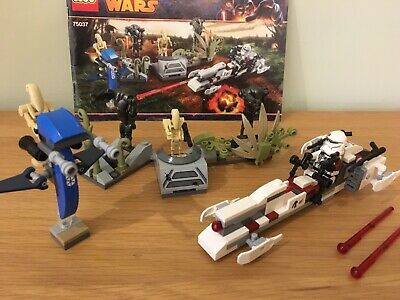 Lego Star Wars Battle of Saleucami - 75037. COMPLETE With Instructions.