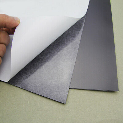 A4 Size soft rubber Magnetic self adhesive Sheet board Strong Flexible 0.3mm
