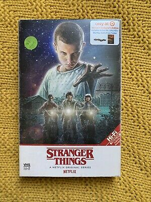 Stranger Things Season 1 (Series One) Collector's Edition 4K Ultra HD & Blu Ray