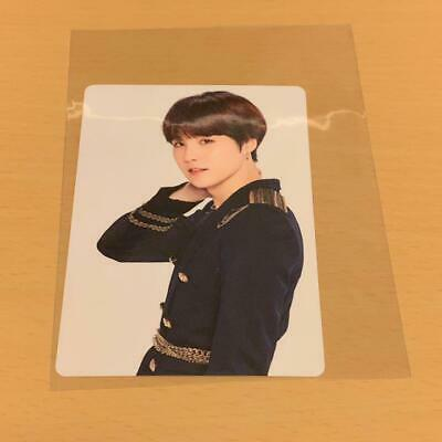 BTS SUGA WORLD TOUR LOVE YOURSELF SPEAK YOURSELF JAPAN EDITION Photo Card a3