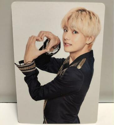 BTS V taehyung WORLD TOUR LOVE YOURSELF SPEAK YOURSELF JAPAN Photo Card a3