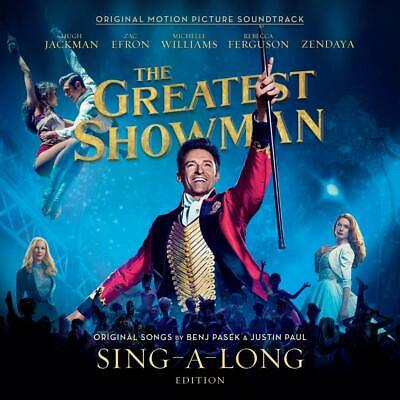 THE GREATEST SHOWMAN SOUNDTRACK SING-A-LONG EDITION 2 CD New Release 19/10/2018)