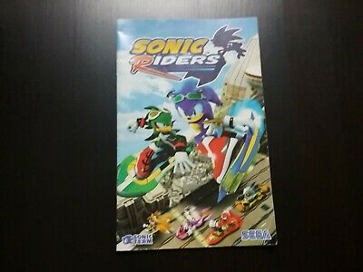 Playstation 2 sonic riders notice