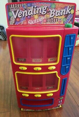 Rare 2004 Mars M&M's Candy Vending Machine Bank Good Condition -Free Ship-