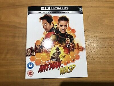 Antman & The Wasp - Marvel 4k UHD HDR BLURAY