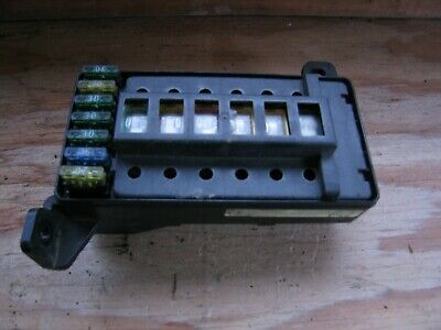 land rover discovery 200 300 tdi under bonnet main engine fuse box amr3258